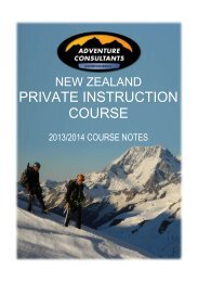 Welcome to the world of mountaineering - Adventure Consultants