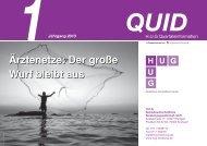 Quartalsinformation Nr. 1 Jahrgang 2013 - H.U.G ...