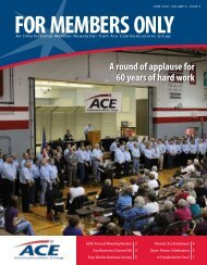 An Informational Member Newsletter from Ace Communications