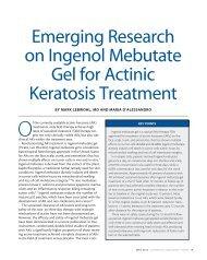 Emerging Research on Ingenol Mebutate Gel for Actinic Keratosis ...
