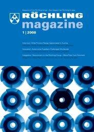 1 | 2008 - Röchling Engineering Plastics