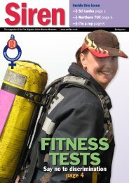 Spring 2010 - Fire Brigades Union