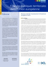 Finances publiques territoriales dans l'Union européenne