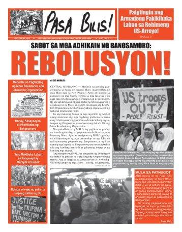 Pilipino - philippinerevolution.net