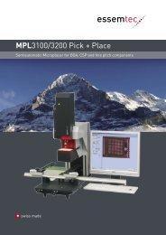 MPL3100-3200 Brochure - Sinerji Grup