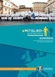 warum eurordis-mitglied werden?