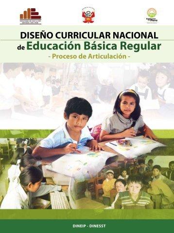 Diseño Curricular Nacional - Ministerio de Educación