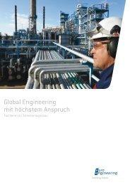 Broschüre Chemieanlagenbau - euro engineering AG