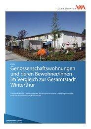 Genossenschaftswohnungen und deren ... - Stadtentwicklung