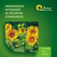 Organizacja wydarzeń w zielonym standardzie - Zielone Wydarzenia