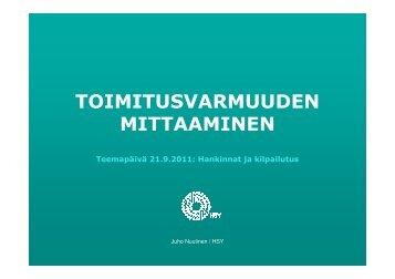 Juho Nuutinen - Motivan hankintapalvelu
