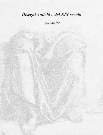 Disegni Antichi e del XIX secolo - Porro Art Consulting