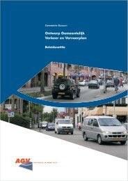 Gemeentelijk Verkeer en Vervoerplan - Bussum Bewust