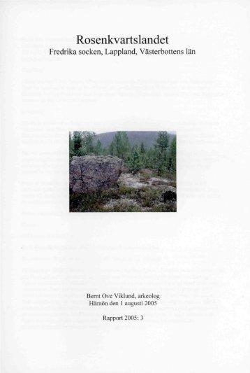 Rosenkvartslandet - Spår från 10 000 år