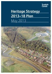 Heritage Strategy 2013–18 Plan May 2013 - Scottish Canals