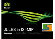 JULES in ISI-MIP