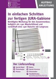 Aufbauanleitung - und Steinhafen GmbH