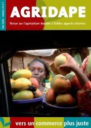 Pour un commerce plus juste - IED afrique