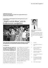 """""""Angelo und die Möwe"""" wird als Kindermusical ... - Procap Grischun"""