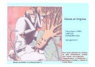 Présentation de Pierre Darlu - Plateforme societal