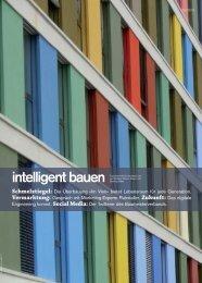 intelligent bauen – Ausgabe 5 2013 - arigon Generalunternehmung
