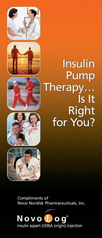 Is It Right for You? - Insulin Pumpers
