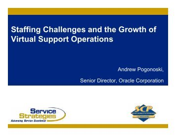 Staffing Challenges and the Growth of Virtual ... - Service Strategies