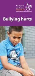 Bullying Hurts brochure - The Alannah and Madeline Foundation