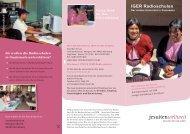 Projektflyer IGER - Jesuitenmission