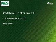 GSC MES Project - ATS