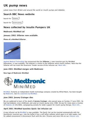 UK pump news