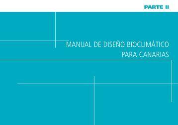 manual de diseño bioclimático para canarias - Renovae.org