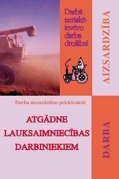 Atgādne lauksaimniecības darbiniekiem - Eiropas darba drošības ...