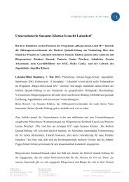 Unternehmerin Susanne Klatten besucht Lalendorf - Herbert-Quandt ...