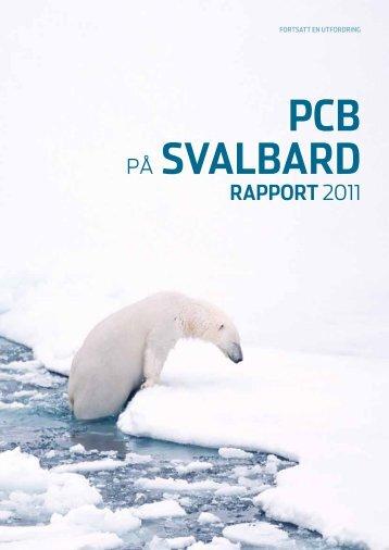 PCB-på Svalbard - Rapport 2011 - Sysselmannen