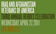 twentieth century fox studios - Iraq and Afghanistan Veterans of ...