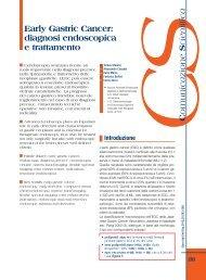 Early Gastric Cancer: diagnosi endoscopica e trattamento - Sied