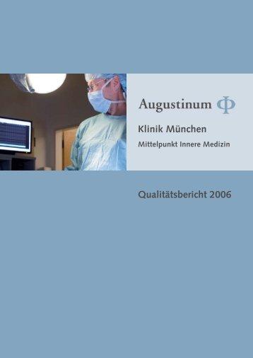 Download Qualitätsbericht 2006 - Klinik Augustinum