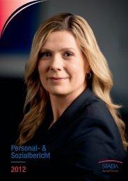 Personal- und Sozialbericht 2012 - STADA Arzneimittel AG