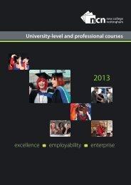 excellence employability enterprise - New College Nottingham