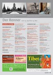 Der Renner vom 15. April bis 14. Mai - Leporello