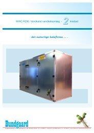WWC - 2 (30-380 kW) Vandkølet vandkøleanlæg - Bundgaard ...