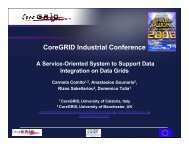 A Service-oriented System to Support Data Integration on Data Grids