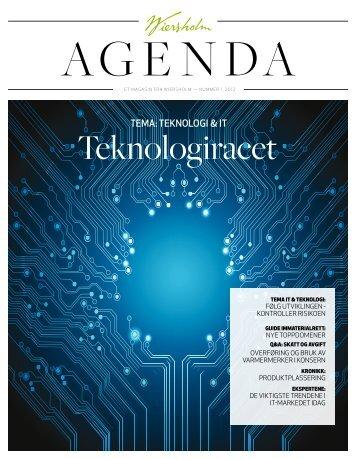Wiersholm Agenda nr. 1 - 2012