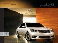 2010 Infiniti M Brochure - eCarList