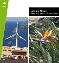 Environmental Management Report 2008 (PDF ... - Aena Aeropuertos