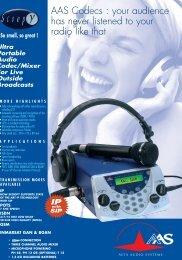 Product Data Sheet - AETA Audio Systems