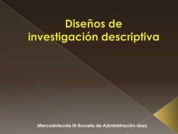 MERCA 3 capitulo 8 Disenos de investigacion descriptiva - Rescate ...