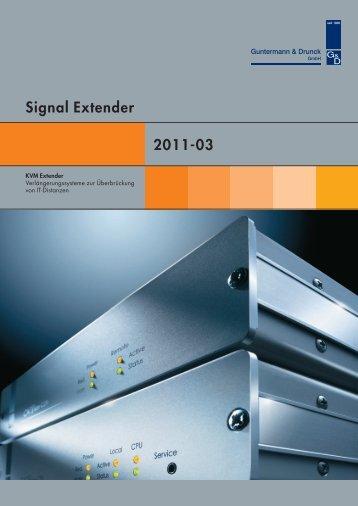 Signal Extender_2011_03 Guntermann & Drunck GmbH