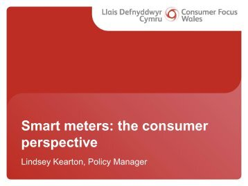 Smart Meters: The Consumer Perspective - Lindsey Kearton